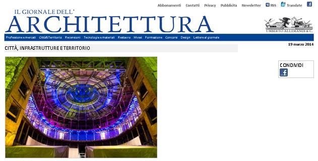 IL GIORNALE DELL'ARCHITETTURA 19|03|2014